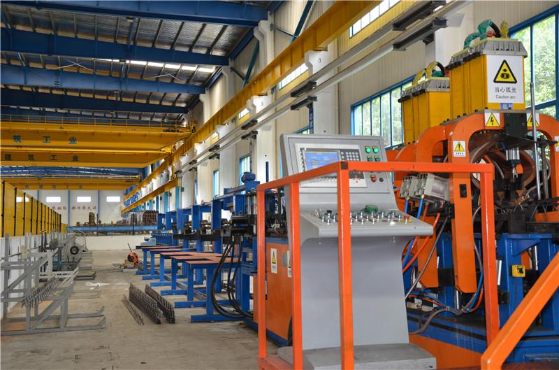 12、高自动化钢筋加工生产线
