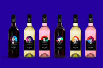 葡萄酒标签包装设计