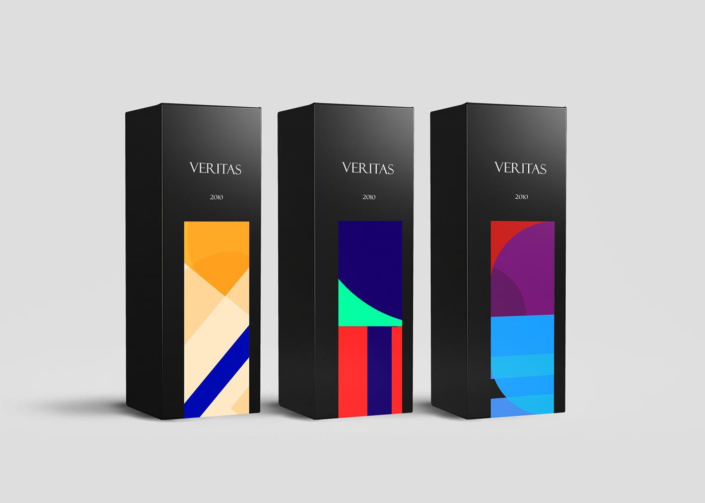 葡萄酒标签包装设计-3