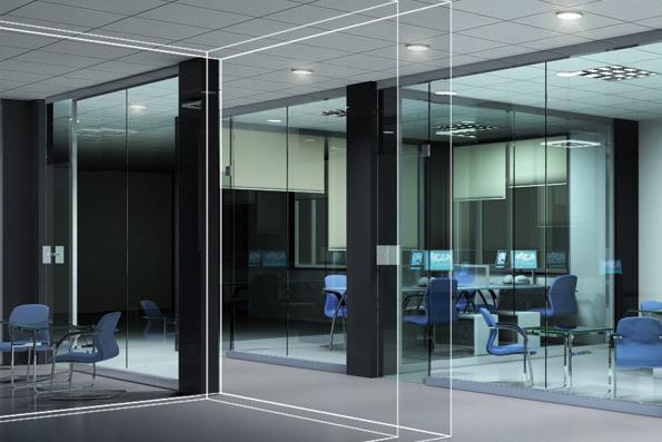 寧波萬金辦公室改造設計效果圖-1