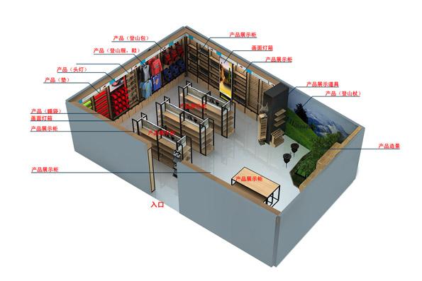 寧波安基國際展廳設計效果圖-2