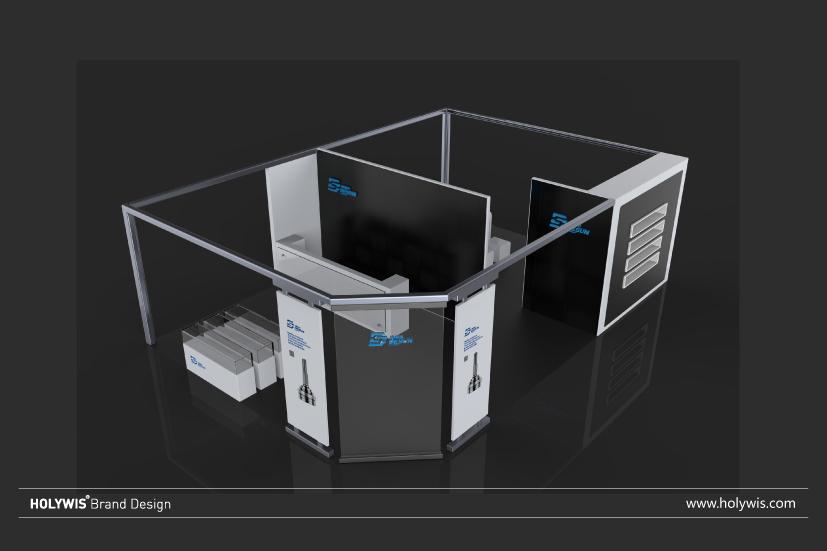 德尚科技展位設計效果圖-1