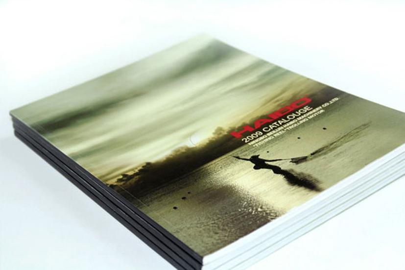 海伯渔具画册设计