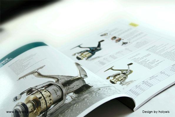 海伯渔具和海伯动力画册设计效果图-7