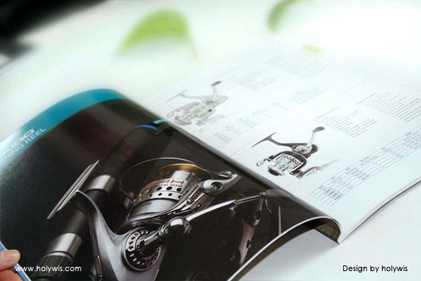 海伯渔具和海伯动力画册设计效果图-8