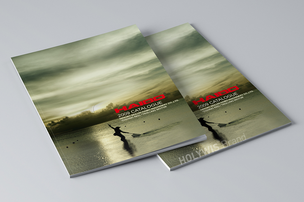 海伯渔具画册设计-5