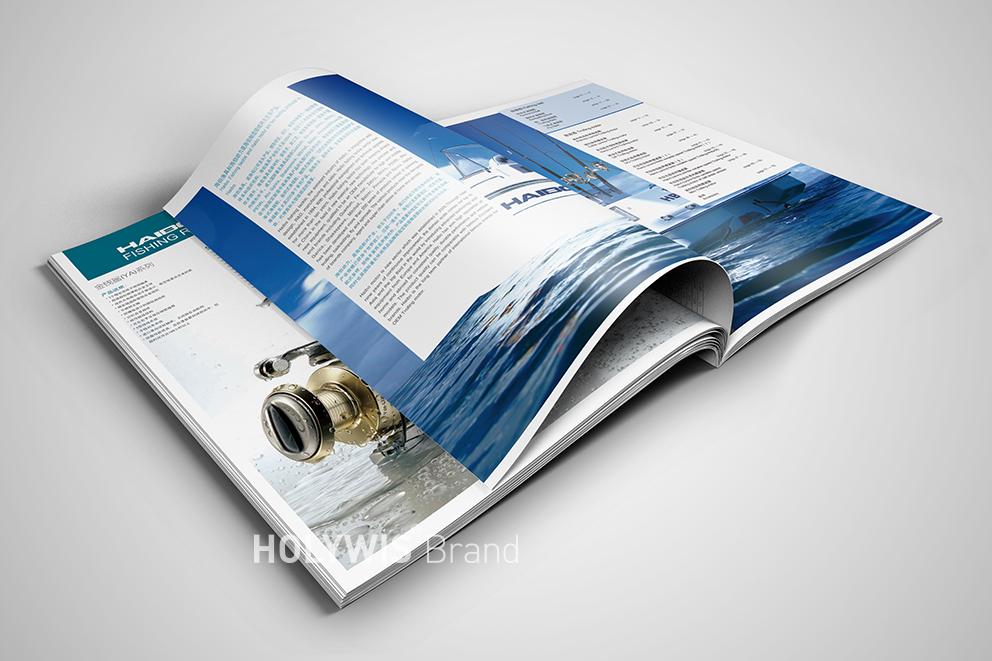 海伯渔具画册设计-6