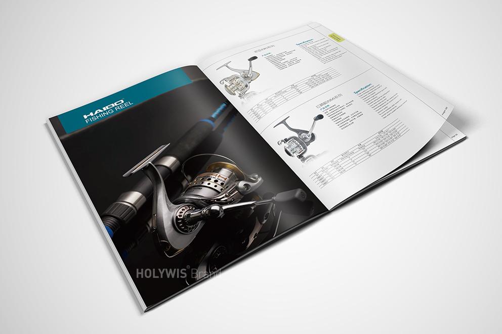 海伯渔具画册设计-7