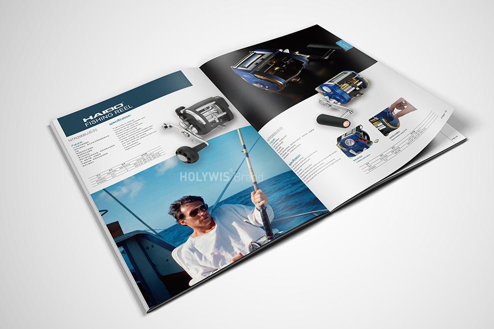 海伯渔具画册设计-8
