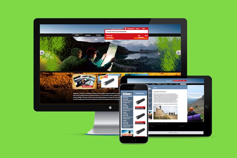 联合进出口网站设计