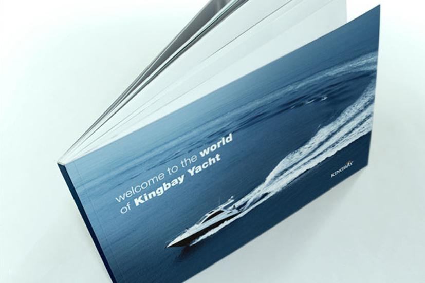 BINGBAY游艇画册设计