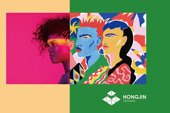 HONGJIN包裝印刷創意幾何學-4