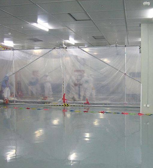 无尘室设备搬运架设工程