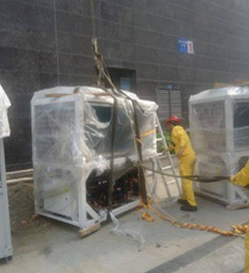 空调机组吊装搬运