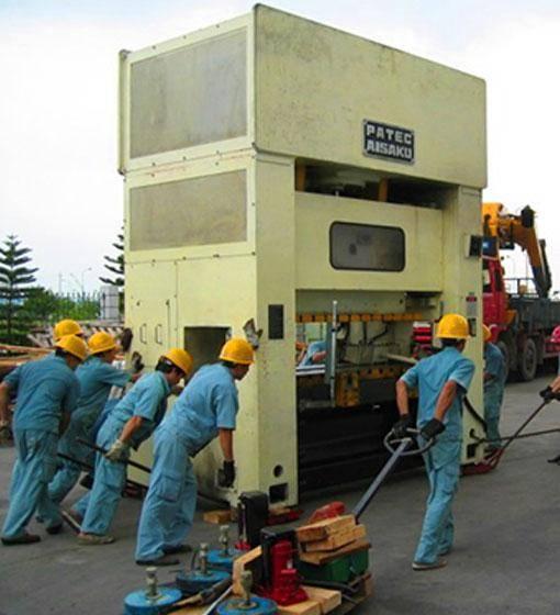CNC加工中心设备搬迁移位