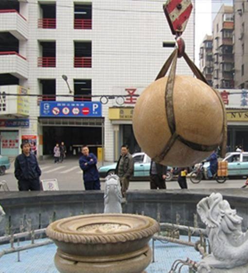 风水球吊装