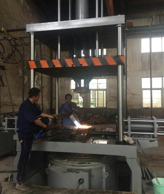 低压铸造磨具预热