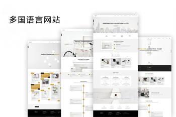 多国语言网站建设