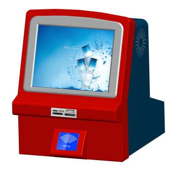 Desktop ATM Machine Touch Kiosk