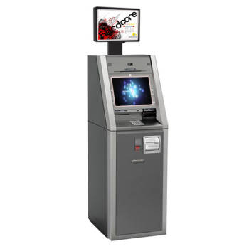 Dual Screen Kiosk For Advertising And Information